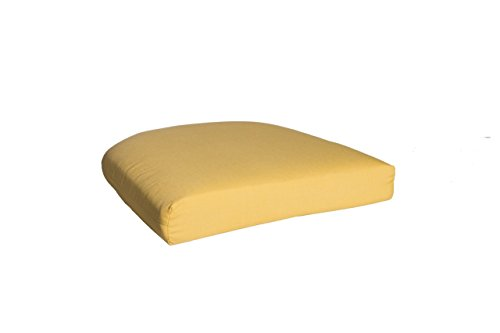 Outdoor Single U Cushion in Sunbrella Spectrum - Sunbrella Spectrum Daffodil