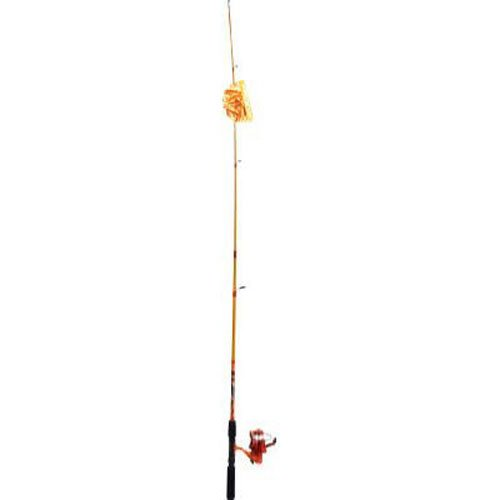 South Bend Worm Gear Spinning Fishing Combo - Green, Blue or Orange Rods And Reels South Bend