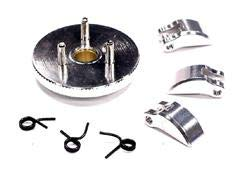 Integy RC Model Hop-ups T3282SILVER Evolution-5 Clutch Conversion Set 7075 Material for T-Maxx, Revo & Slayer (Both)