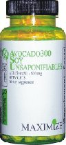 ASU300-Avocado Soy Unsaponifiables, w/SierraSil, 60 Tablets, 12 Bottles by Maximize