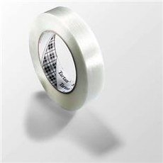 3M Tartan 8934 Polypropylene Filament Tape, 100 lbs/inch Tensile Strength, 60.14 yds Length x 0.47