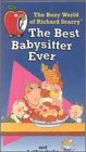 The Busy World of Richard Scarry - The Best Babysitter Ever [VHS]