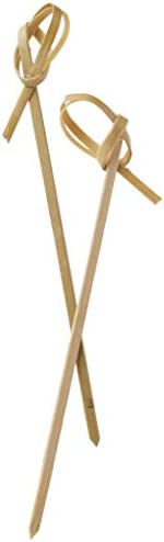"""Perfectware Bamboo Knot 4-300ct 4"""" Bamboo Knot Picks (Pack of"""
