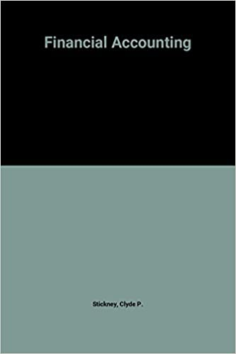 Book Financial Accounting by Stickney (1999-08-05)