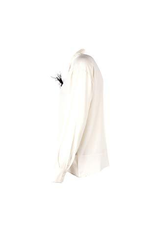 42 Camicia Kijtz007 Bianco Donna 19 Autunno Inverno Kaos 2018 ZFq7Ux
