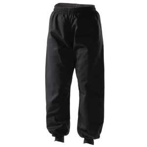 (Century Martial Arts Kung Fu Martial Arts Pants - Black, 6 - Adult X-Large)