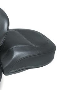 Mustang Sport Touring Seat with Driver Backrest 79335 - Mustang Contoured Vintage Pad