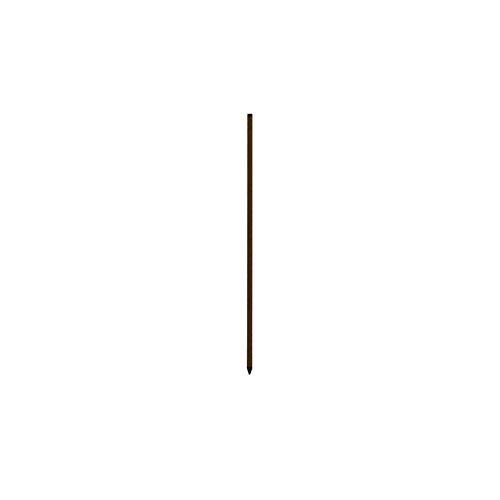 [50本入] タイガー 樹脂被覆鋼管支柱 K2012 (型式 TBS- PK20120) [20mm径×120cm] ボーダーショック 電気さく 専用支柱 獣害防止用 ハオ 代不 B07SR73SBL