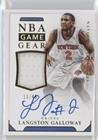 Langston Galloway #11/49 (Basketball Card) 2015-16 Panini National Treasures - NBA Game Gear Autographs #GG-LGW -