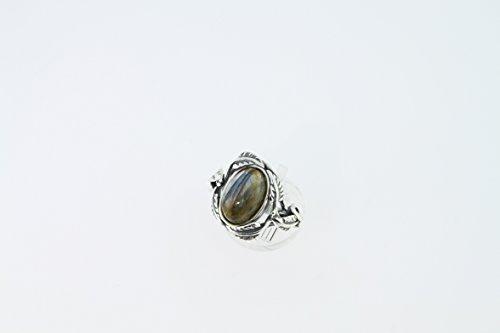 Bague en Labradorite 42-16 - Bijoux en argent et Labradorite - Toutes tailles et diverses pierres - ARTIPOL