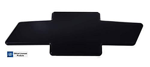 (AMI 2003-2007 Classic Body Style Silverado 1500 Front Grille Bowtie Emblem - Black w/o Border)