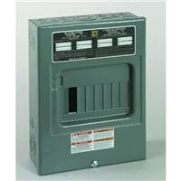- Square D by Schneider Electric QO816L100SCP QO 100 Amp 8-Space 16-Circuit Indoor Surface Mount Main Lugs Load Center