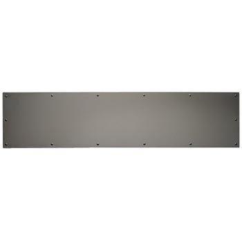 Baldwin 20010550834 Lifetime Polished Nickel 8 Inch x 34 Inch Stainless Steel Kick Plate