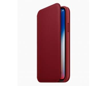 Apple Folio Case for iPhone X - Red