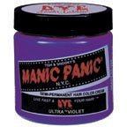 Manic Panic Classic Creme Hair Color Ultra Violet (Manic Panic Purple Haze Mixed With Ultraviolet)