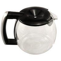 DeLonghi 7313281249 10 Cup Coffeemaker Carafe, Black 10 Cup Replacement Carafe