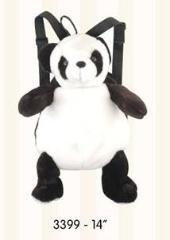 [해외]Panda 14 Plush Stuffed Animal Little Backpack / Panda 14 Plush Stuffed Animal Little Backpack