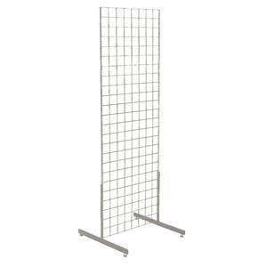 Chrome Wire Grid Display 24'' x 72'' by Retail Resource