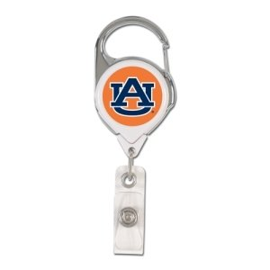 NCAA Auburn Tigers Retractable Premium Badge Holder, Team Color, One - Mall Outlet Auburn