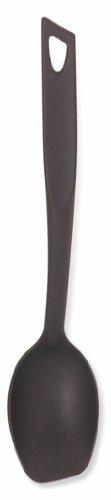 Norpro 1600 Solid Spoon Black