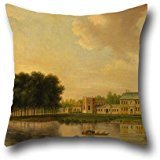 [Oil Painting Joseph Nickolls - Orleans House, Twickenham Throw Pillow Case 16 X 16 Inch / 40 By 40 Cm Best Choice For Living Room,bedding,office,seat,christmas,son With 2] (House Of A Thousand Corpses Baby Costume)