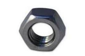 M10 x 1.25p Metric Fine Pitch Full Nut (Pack of 10) Bescol