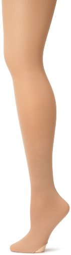 Stretch Footed Tights - Capezio Women's Ultra Soft Transition Tight, Light Suntan, XX-Large