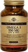 Solgar Omega 3 950 100 Softgels/bottle - 6 Bottles by Solgar