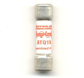 Mersen Electrical Power ATQ7 - Amp-trap ATQ7, 7A, 500V AC, Time Delay, Ferrule Fuse