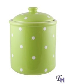 Spode Baking Days Green Canister(s)