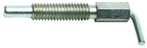 1/4''-20 Dia x 1.250''L 0.5lb-2.5lb Force Steel Alloy Lever Retractable Plunger