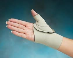 Cool Comfort Comfort Cool Arthritis Thumb Splint-Beige -Small +-Left