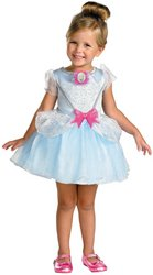 Cinderella Classic Toddler Costumes (Cinderella Ballerina Classic Costume - Toddler Medium)