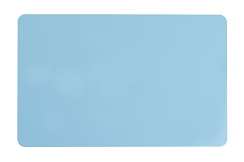 (Pack of 500 Premium Graphic Quality Light Blue PVC Cards CR80 30 Mil Standard Credit Card Size by My ID City)
