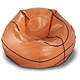 Ace Casual 96-inch Vinyl Sports Bean Bag Chair - Bean Sports Bag Theme
