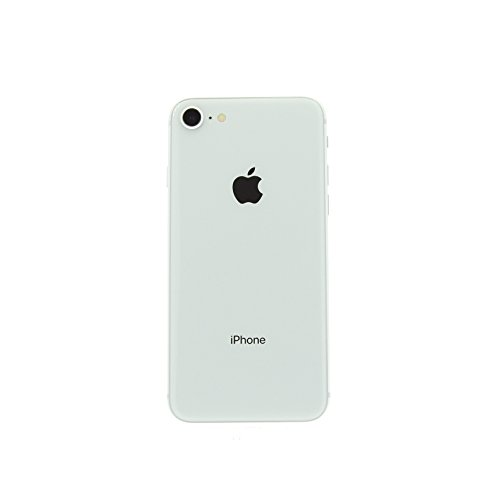 Apple iPhone 8, 64GB, Silver – Fully Unlocked (Renewed)