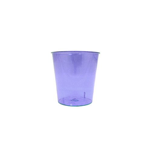 Neon Durable Plastic Party Shot Cups | Party Pack for Shots, Homemade Jello, Wine, Glass Style Catering 1oz Cup | Anapoliz Exclusive Cups (Purple)
