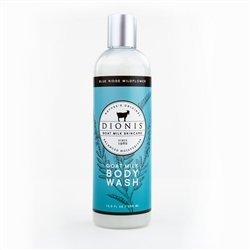Dionis Goat Milk Skincare - Body Wash Blue Ridge Wildflower - 12 oz. Sodium Chloride Moisturizing Body Wash
