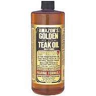 Golden Teak Oil Pint GTO125