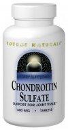 Source Naturals sulfate de chondroïtine 600 mg, 120 comprimés
