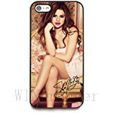 Selena Gomez signed HD image phone cases for iPhone 5/5s( HD Hard ABS Material)
