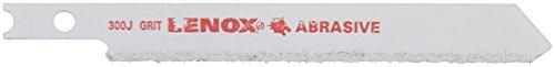 (Lenox Tools 20320GT300J U-Shank Carbide Grit Jig Saw Blade for Tile 3-1/2-Inch Length, 2-Pack)