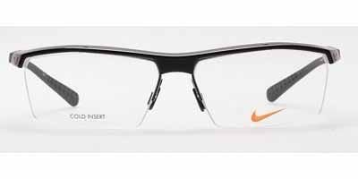 Nike Eyeglasses 7071/1 002 Gloss Black Optical Frame ()