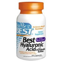 Doctor's Best Best Hyaluronic Acid (100mg)+Chond Sulfate 60 caps