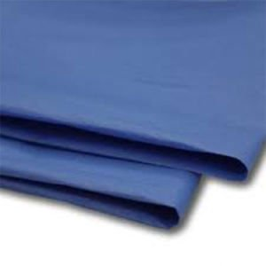 480 Sheets Royal Blue Tissue Paper 500x750 Acid Free