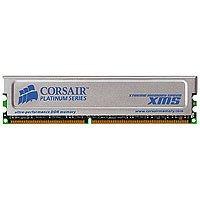 Corsair  Cmx1024 3200C2pt  Ddr  Xms3200 128Mx64  Non Ecc 184 Dimm  Unbuffered  2 3 3 6  64Mx8 Drams  Silver