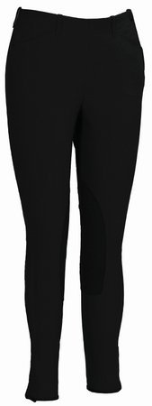 Circuit Riding Breeches - TuffRider Women's Lowrise Schooling Show Circuit Breeches, Turkish Coffee, 32