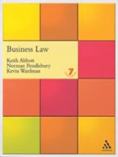 Keith abbott law pdf business