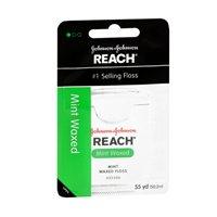 Floss Waxed Reach Mint (REACH Mint Waxed Floss 55 Yards (Pack of 2))
