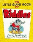 The Little Giant Book of Riddles, Joseph Rosenbloom, 0806961007